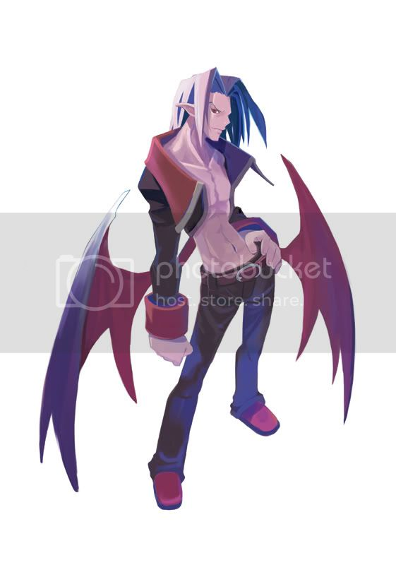 Vyers the Dark Adonis Disagaea Hour of Darkness
